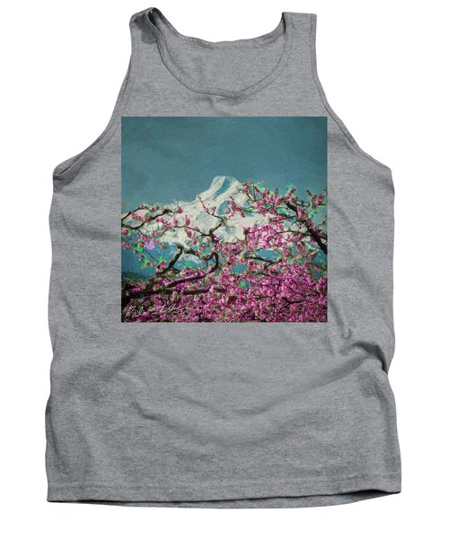 Hood Blossoms Tank Top by Dale Stillman