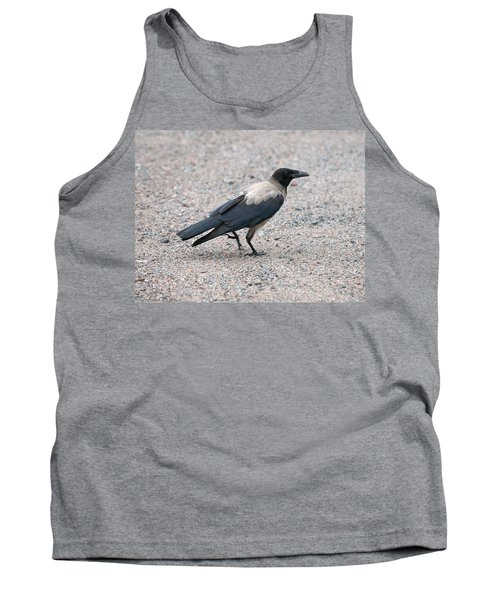 Tank Top featuring the photograph Hooded Crow by Jouko Lehto