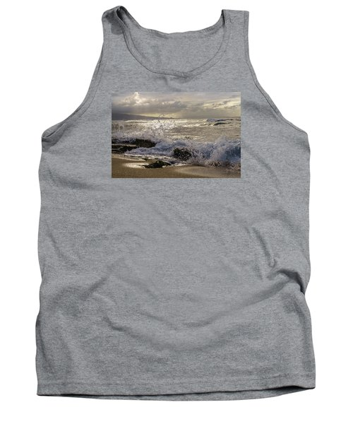 Tank Top featuring the photograph Ho'okipa Beach Maui by Janis Knight