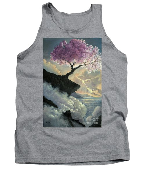 Tank Top featuring the painting Hope Inclines by Rosario Piazza