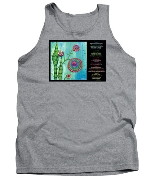 Hope With Poem Tank Top