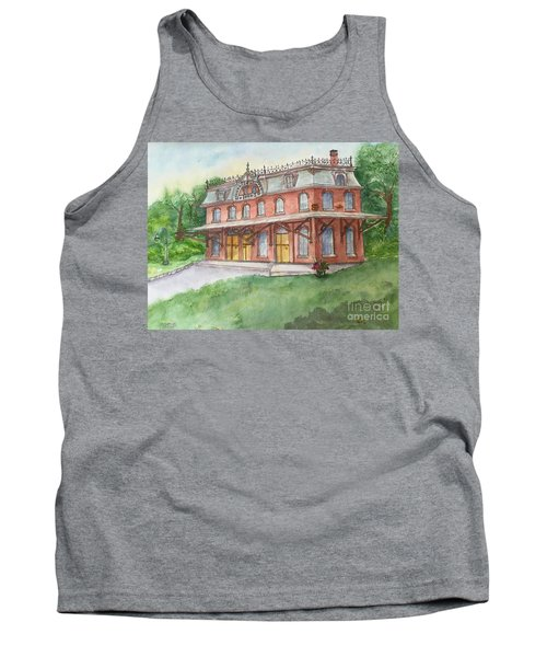 Hopewell Nj Train Station Tank Top by Lucia Grilletto