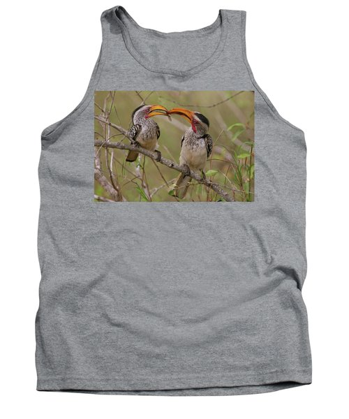 Hornbill Love Tank Top by Bruce J Robinson