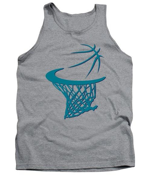 Hornets Basketball Hoop Tank Top