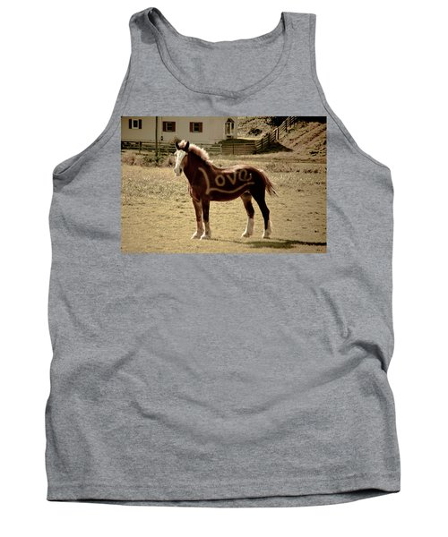 Horse Love Tank Top by Trish Tritz