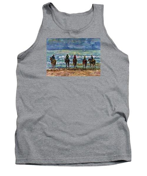 Horseback Beach Memories Tank Top