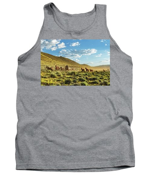 Horses And More Horses Tank Top