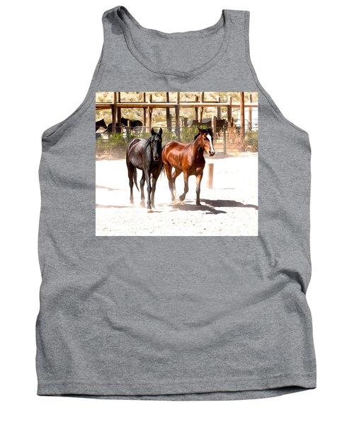 Horses Unlimited_6a Tank Top
