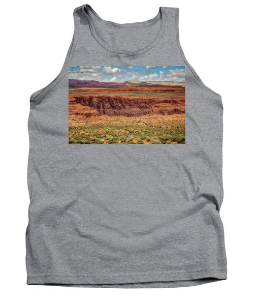 Tank Top featuring the photograph Horseshoe Bend Arizona #2 by Jennifer Rondinelli Reilly - Fine Art Photography