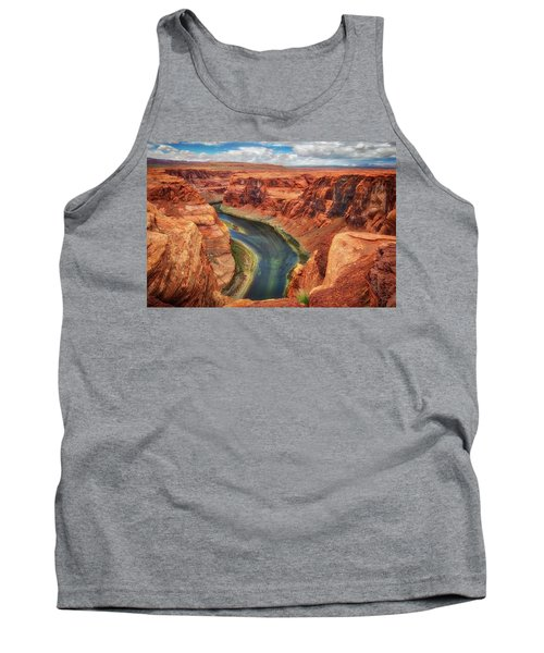 Horseshoe Bend Arizona - Colorado River #2 Tank Top by Jennifer Rondinelli Reilly - Fine Art Photography
