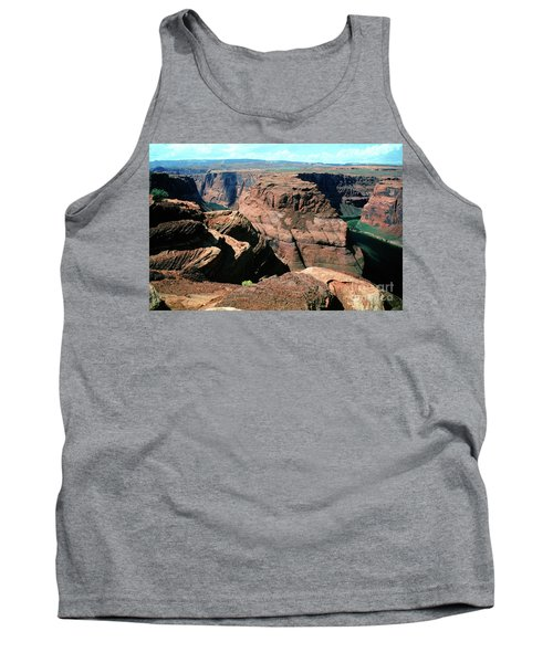 Horseshoe Bend Of The Colorado River Tank Top