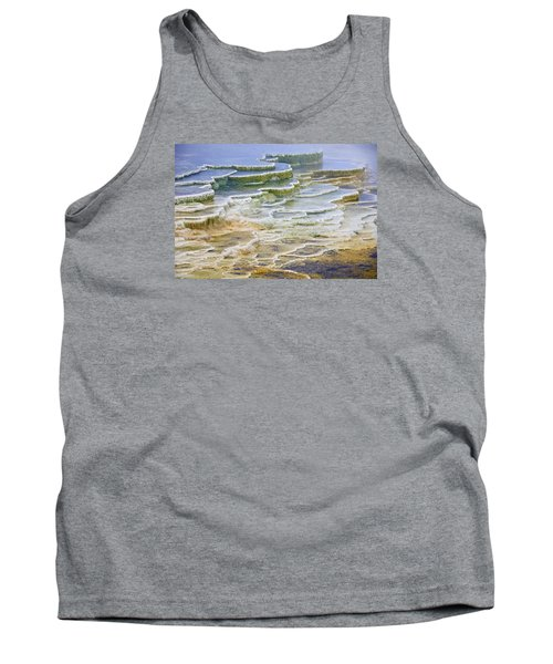 Tank Top featuring the photograph Hot Springs Runoff by Gary Lengyel