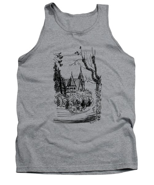 House In San Francisco Tank Top