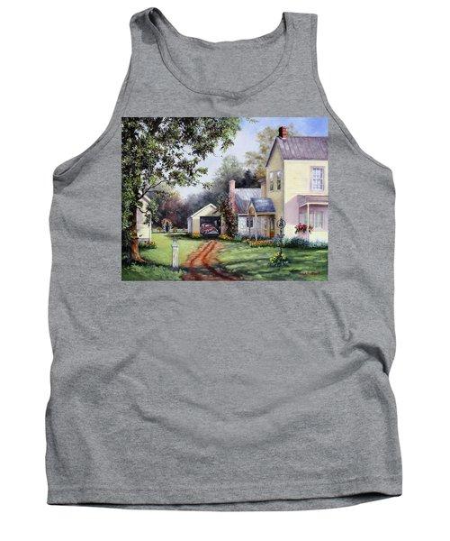 House On Bird Street Tank Top
