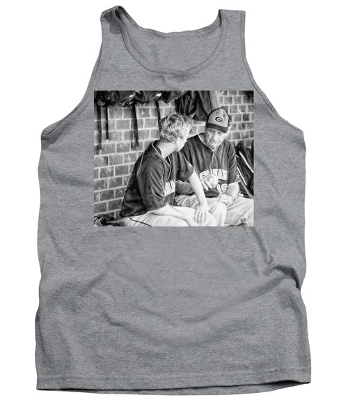 Tank Top featuring the photograph How To Throw A Curve Ball by Benanne Stiens