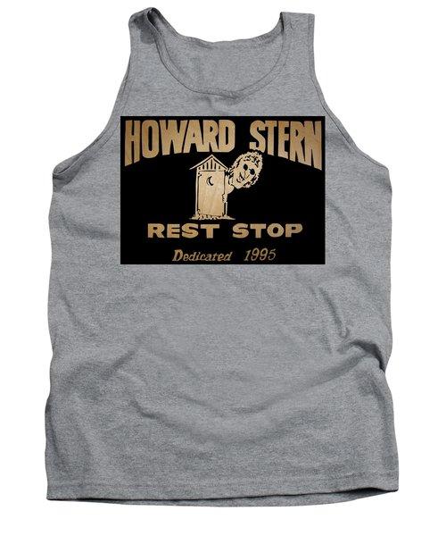 Howard Stern Rest Stop Tank Top