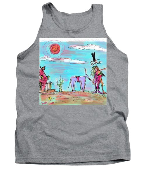 Howdy Pardner...the Frontier Awaits Tank Top