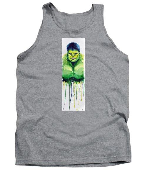 Hulk Tank Top by David Kraig