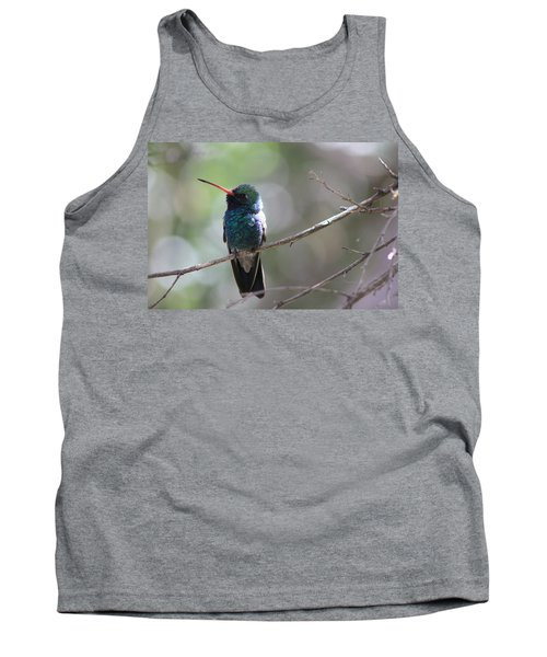 Tank Top featuring the photograph Hummer by Kathy Bassett