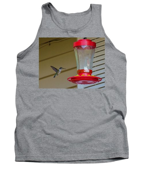 Hummingbird In Flight Tank Top
