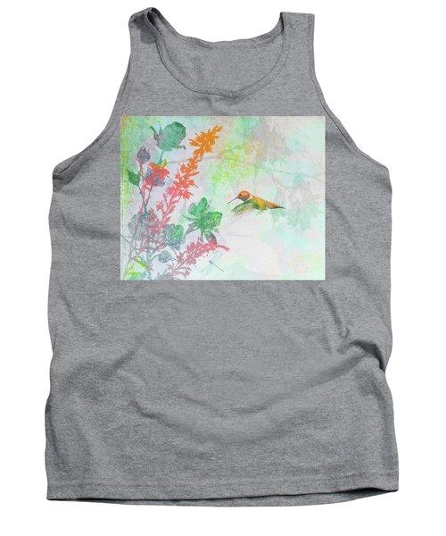 Hummingbird Summer Tank Top