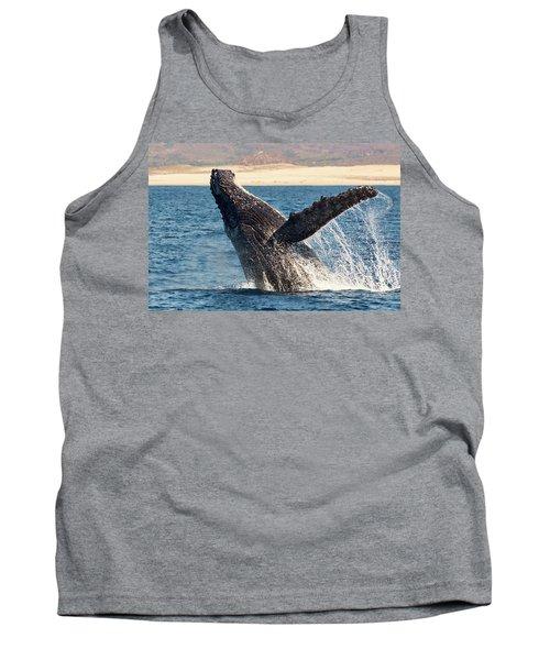 Humpback Whale Breaching Tank Top
