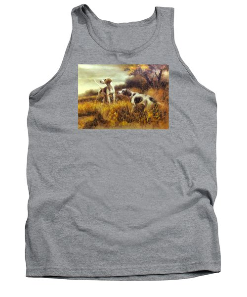 Hunting Dogs No1 Tank Top by Charmaine Zoe
