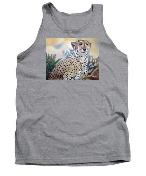 I Am Cheetah 2 Tank Top by Marilyn  McNish