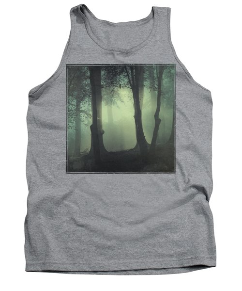 I Am Not My Usual Self - Foggy Forest Tank Top