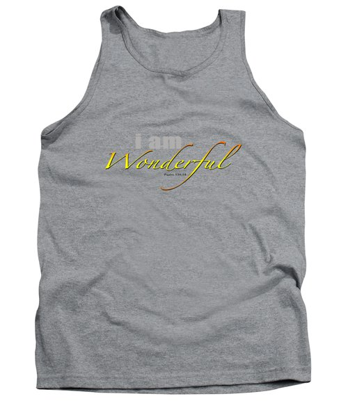 i am Wonderful Tank Top