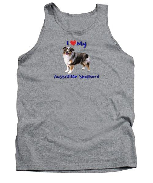 I Heart My Australian Shepherd Tank Top