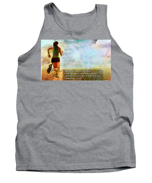 I Press - Female And Text Tank Top