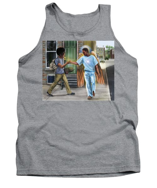 I Walk With Angels Tank Top