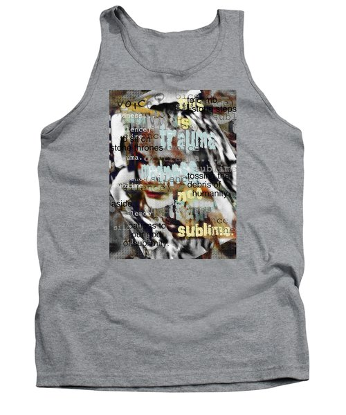 Mistaken Identity-i Will Be Silent No More Tank Top