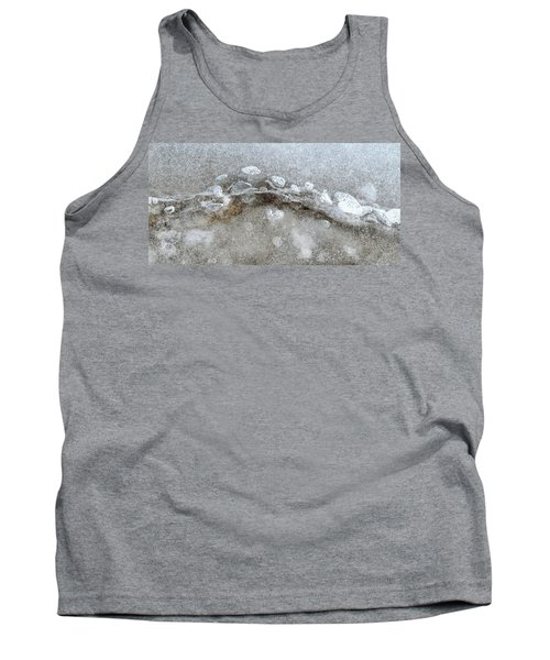 Ice And The Beach Four  Tank Top by Lyle Crump