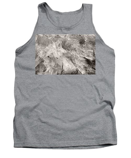 Ice Crystals Tank Top by Heather Kirk