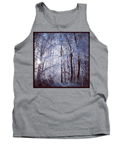 Ice Ladened Forest Tank Top