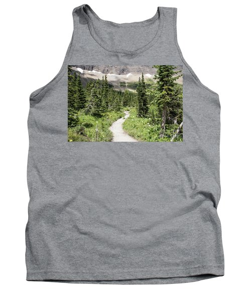 Iceberg Lake Trail Forest Tank Top