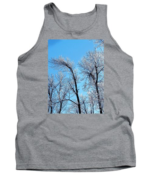Iced Trees Tank Top by Craig Walters