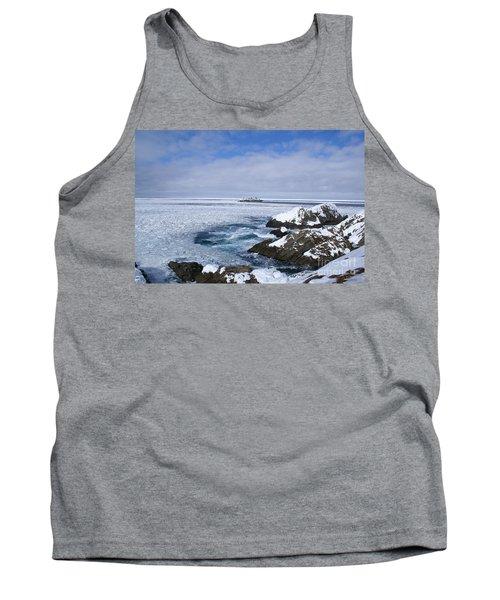 Icy Ocean Slush Tank Top by Annlynn Ward