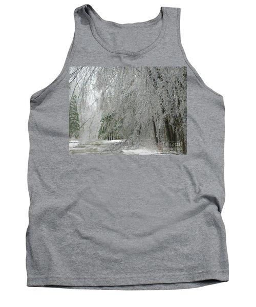 Icy Street Trees Tank Top