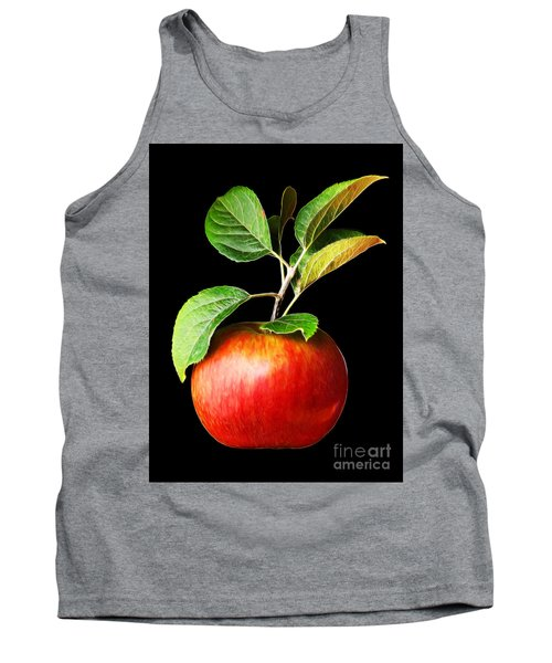 Ida Red Apple And Leaves Tank Top