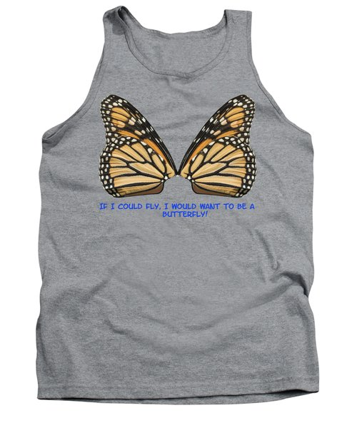 If I Could Fly Tank Top by Thomas Young