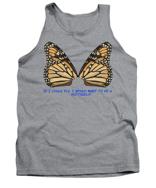 If I Could Fly Tank Top