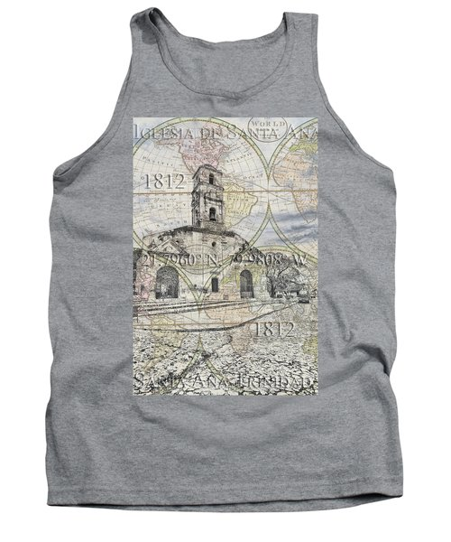 Iglesia De Santa Ana Passport Tank Top