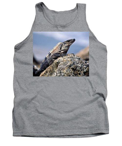 Iguana Tank Top by Sally Weigand