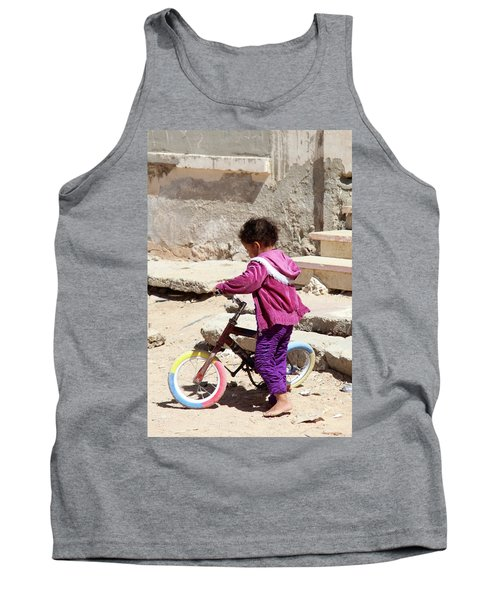 I'll Get It Straight First Tank Top by Jez C Self