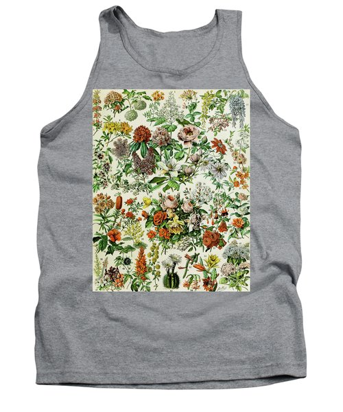 Illustration Of Flowering Plants Tank Top