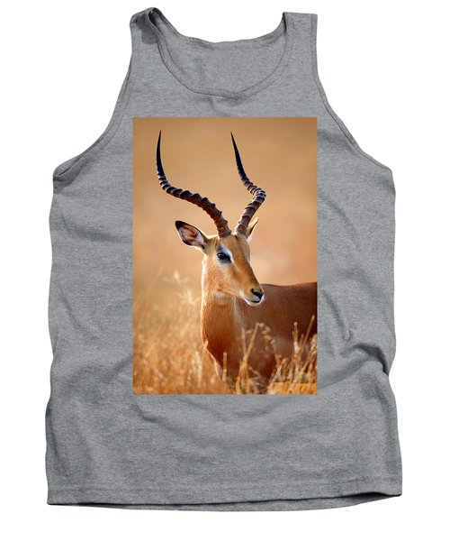 Impala Male Portrait Tank Top