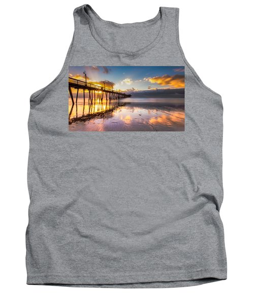 Tank Top featuring the photograph Imperial Burst by Ryan Weddle